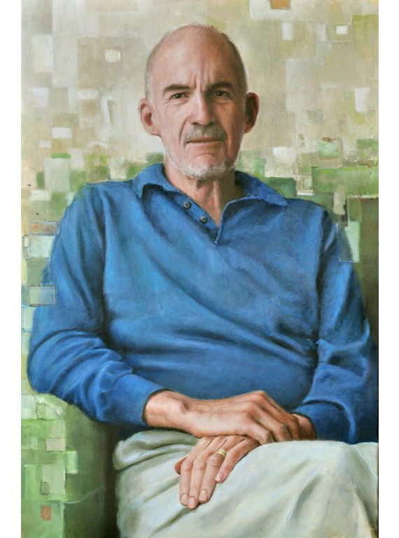 "Dick. Oil on canvas, 32"" x 48"".  2011.  Private collection."