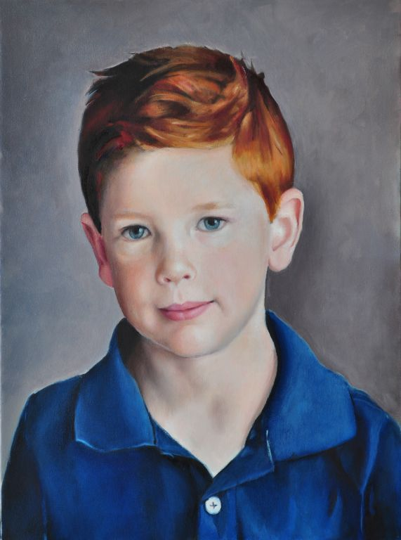 """Lelland. Oil on canvas, 20"""" x 27"""". 2013. Private collection."""